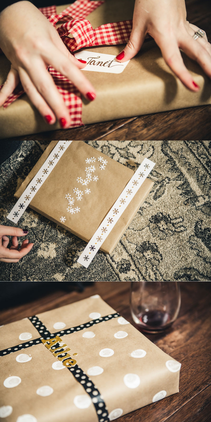 Three fun and festive Black Friday wrapping ideas