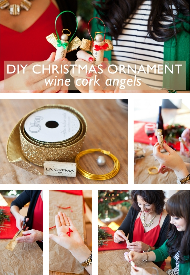 Triple Diy Wine Cork Christmas Ornaments