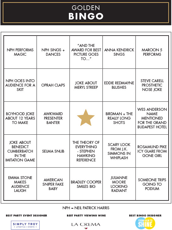 Click the image to download the movie award bingo ballot.