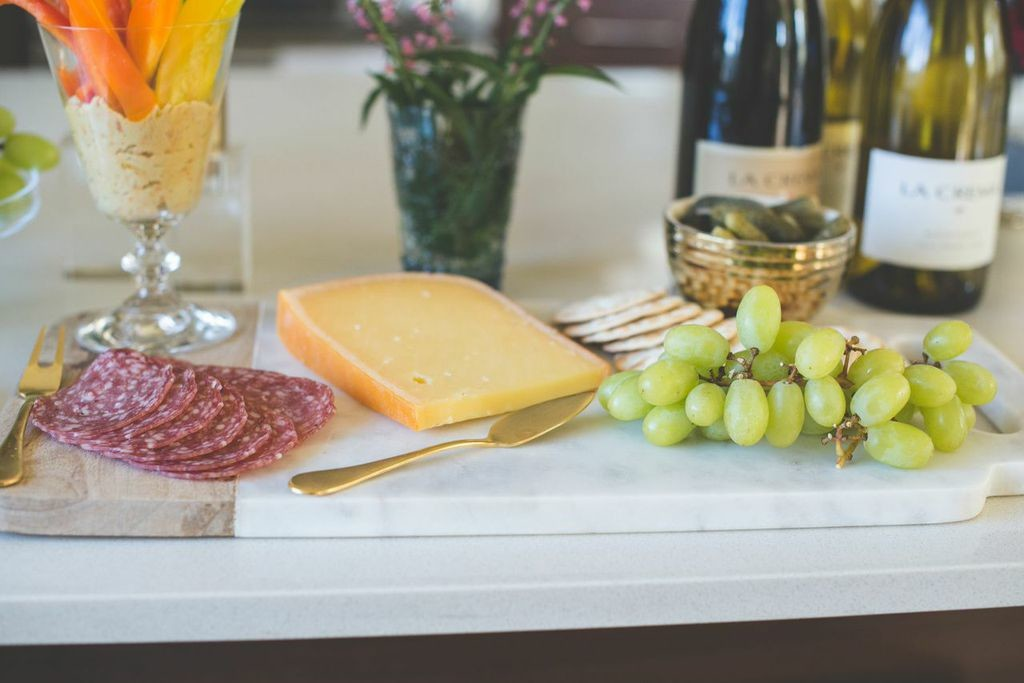 Happy Hour: Assortment of cheeses and cured meats