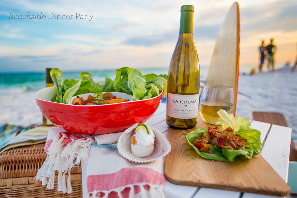 Dinner Party For Four Menu Ideas Part - 36: Beachside Dinner Party- Love This Easy Menu Perfect For A Dinner Party In  The Sand