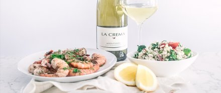 Herby Grilled Shrimp and a Chilled Grain Salad